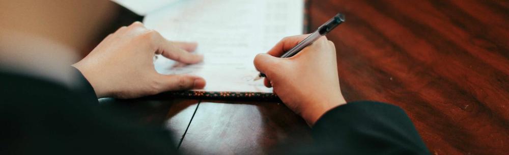 foto - handtekening notaris